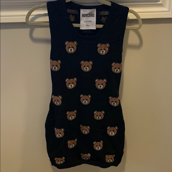 🧸🧸Moschino couture Teddy Bear wool dress🧸🧸